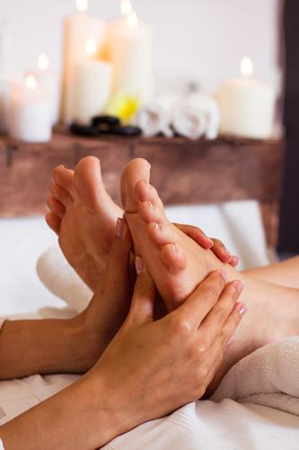 Foot massage instructions